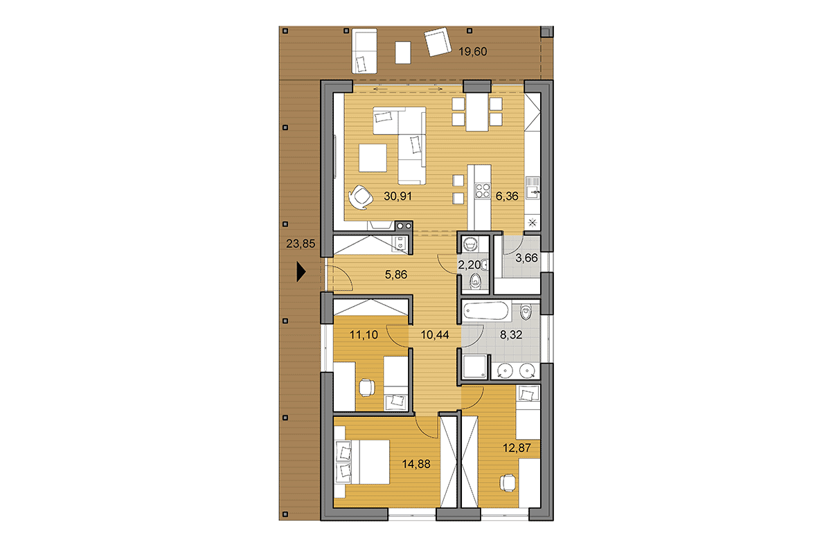 Rectangular House Plans And Designs